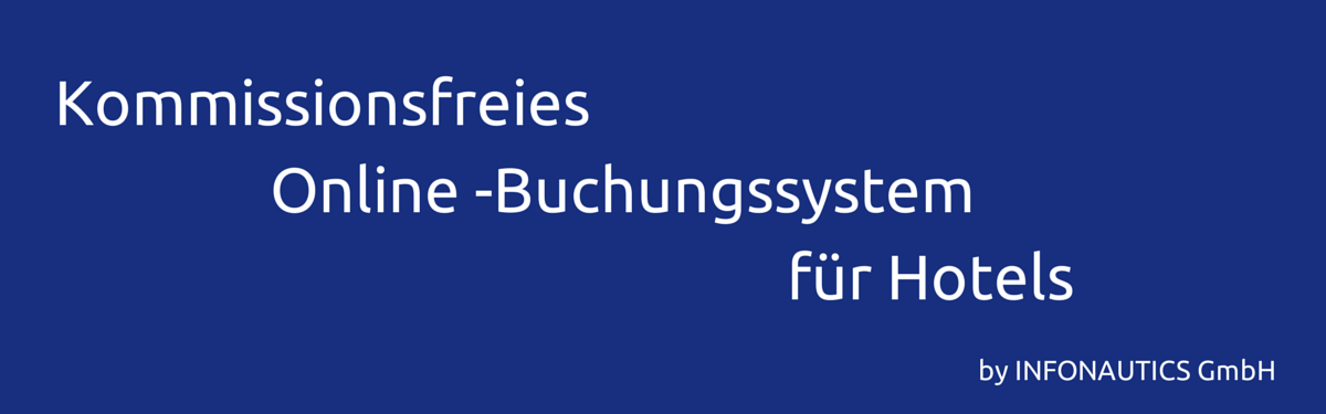 Kommissionsfreies Online-Buchungssystem